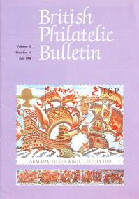 British Philatelic Bulletin Volume 25 Issue 11