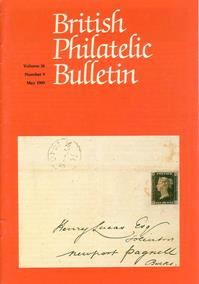 British Philatelic Bulletin Volume 26 Issue 9