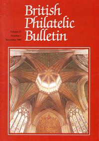 British Philatelic Bulletin Volume 27 Issue 3