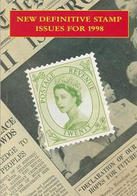 New Definitive Stamp Issues for 1998