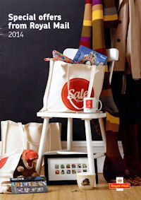 Special offers from Royal Mail 2014