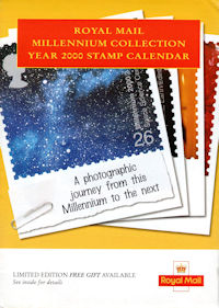 Royal Mail Millennium Collection Year 2000 Stamp Calendar