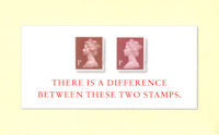 Theres a Difference Between These Two Stamps