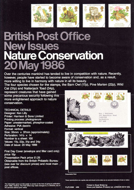 Nature Conservation - Species At Risk (1986)