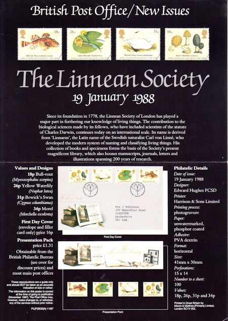 The Linnean Society (1988)