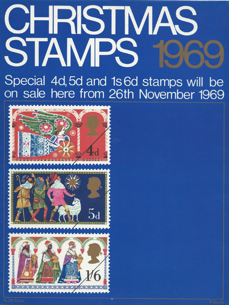 christmas 1969  1969    collect gb stamps