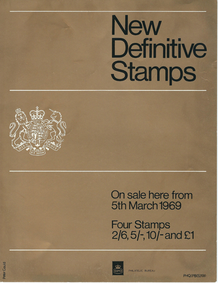 High Value Definitives (1969)