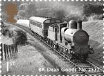 Classic Locomotives of England 1st Stamp (2011) BR Dean Goods No. 2352