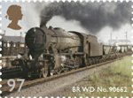 Classic Locomotives of England 97p Stamp (2011) BR WD No. 90662
