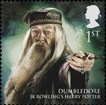 Magical Realms 1st Stamp (2011) Dumbledore