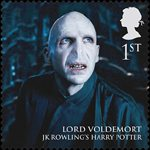 Magical Realms 1st Stamp (2011) Voldemort