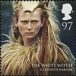 Magical Realms 97p Stamp (2011) The White Queen