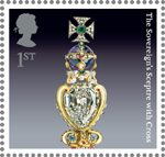 The Crown Jewels 1st Stamp (2011) The Sovereign's Sceptre with Cross