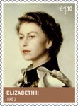 The House of Windsor £1.10 Stamp (2012) Elizabeth II (1952 to date)
