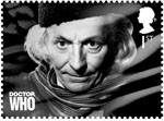 Doctor Who 1st Stamp (2013) William Hartnell
