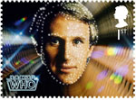 Doctor Who 1st Stamp (2013) Peter Davison