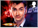Doctor Who 1st Stamp (2013) David Tennant