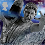 Doctor Who 2nd Stamp (2013) Weeping Angel