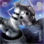 Doctor Who 2nd Stamp (2013) Cybermen