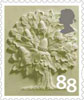Country Definitives 88p Stamp (2013) England