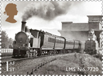 Classic Locomotives of Wales 1st Stamp (2014) LMS No. 7720