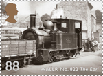Classic Locomotives of Wales 88p Stamp (2014) W&LLR No. 882 The Earl