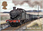 Classic Locomotives of Wales £1.28 Stamp (2014) BR 5600 No. 5652
