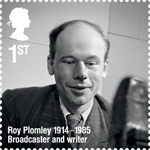 Remarkable Lives 1st Stamp (2014) Roy Plomley