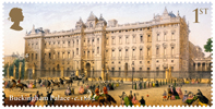 Buckingham Palace 1st Stamp (2014) Buckingham Palace circa 1862
