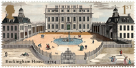 Buckingham Palace 1st Stamp (2014) Buckingham Palace 1714