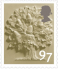 Country Definitives 2014 97p Stamp (2014) England