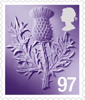 Country Definitives 2014 97p Stamp (2014) Scotland