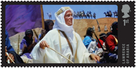 Great British Film 1st Stamp (2014) Lawrence of Arabia (1962)