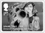 Great British Film 1st Stamp (2014) Spare Time (1938)