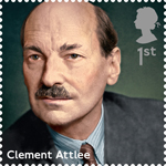 Prime Ministers 1st Stamp (2014) Clement Atlee
