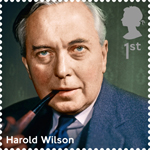 Prime Ministers 1st Stamp (2014) Harold Wilson