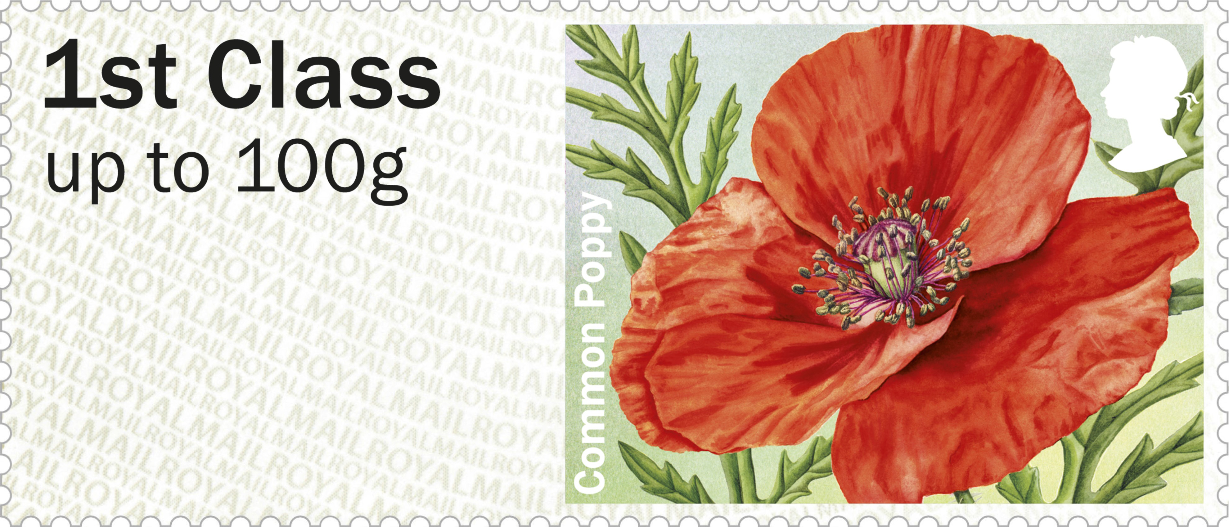 Post Go Symbolic Flowers British Flora 2 2014 Collect Gb Stamps