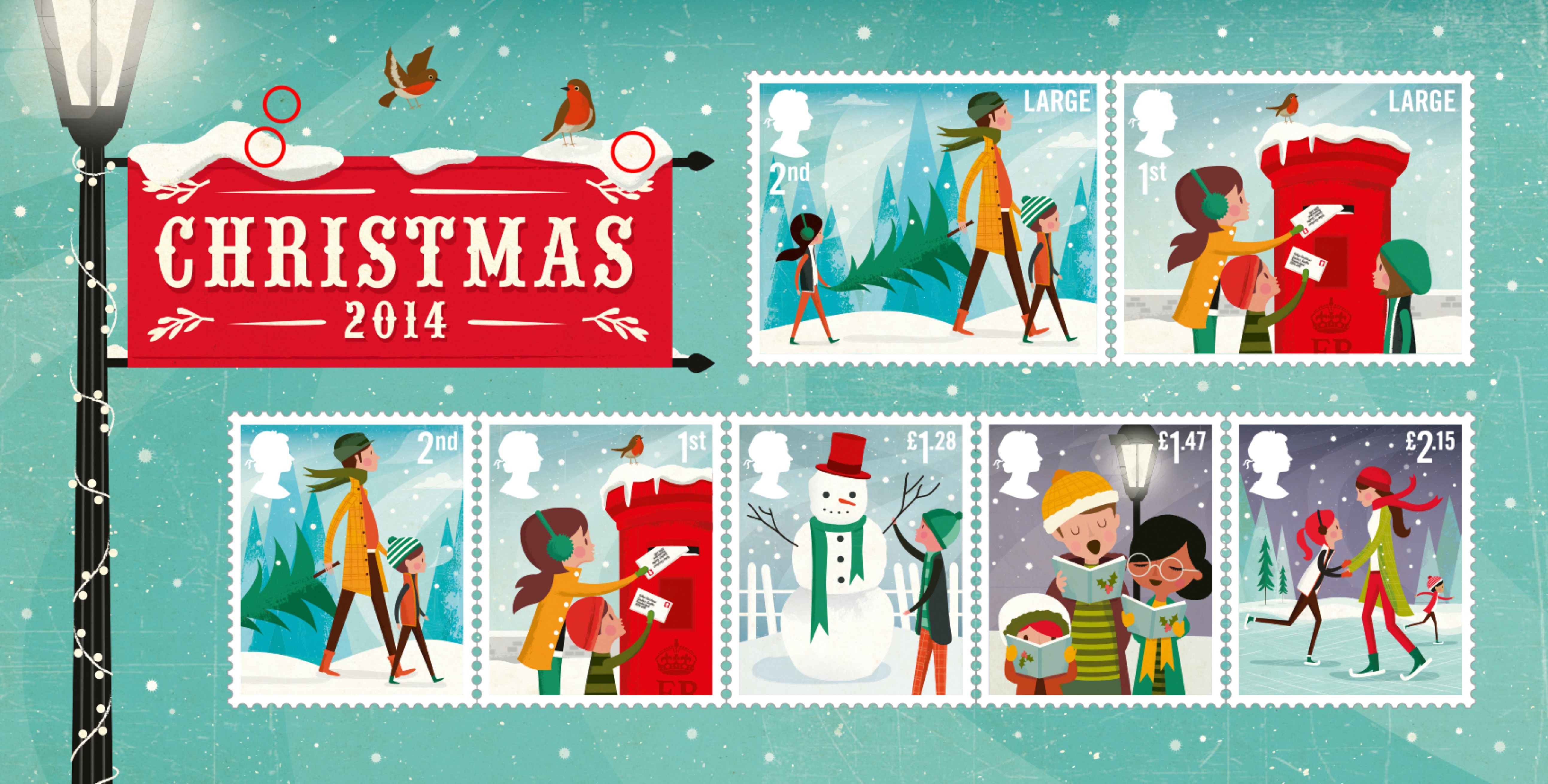 Christmas (1976) : Collect GB Stamps
