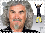Comedy Greats 1st Stamp (2015) Billy Connolly