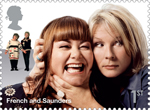 Comedy Greats 1st Stamp (2015) French and Saunders