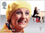 Comedy Greats 1st Stamp (2015) Victoria Wood