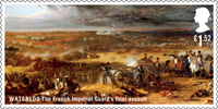 The Battle of Waterloo £1.52 Stamp (2015) Waterloo - The French Imperial Guard's final assault
