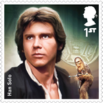 Star Wars 1st Stamp (2015) Han Solo