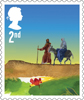 Christmas 2015 2nd Stamp (2015) The Journey to Bethlehem