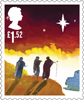 Christmas 2015 £1.52 Stamp (2015) The three wise men