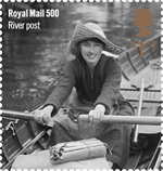 Royal Mail 500 £1.52 Stamp (2016) River post