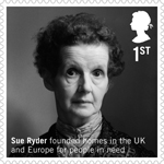 British Humanitarians 1st Stamp (2016) Sue Ryder (1924–2000)