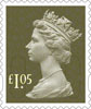 Definitives 2016 £1.05 Stamp (2016) Definitives 2016