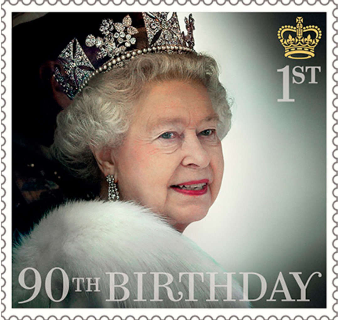 HM The Queen's 90th Birthday (2016) : Collect GB Stamps