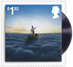 Pink Floyd £1.52 Stamp (2016) The Endless River